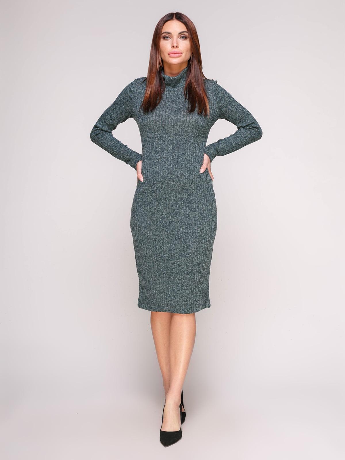 Сукня-гольф смарагдового кольору | 4601149