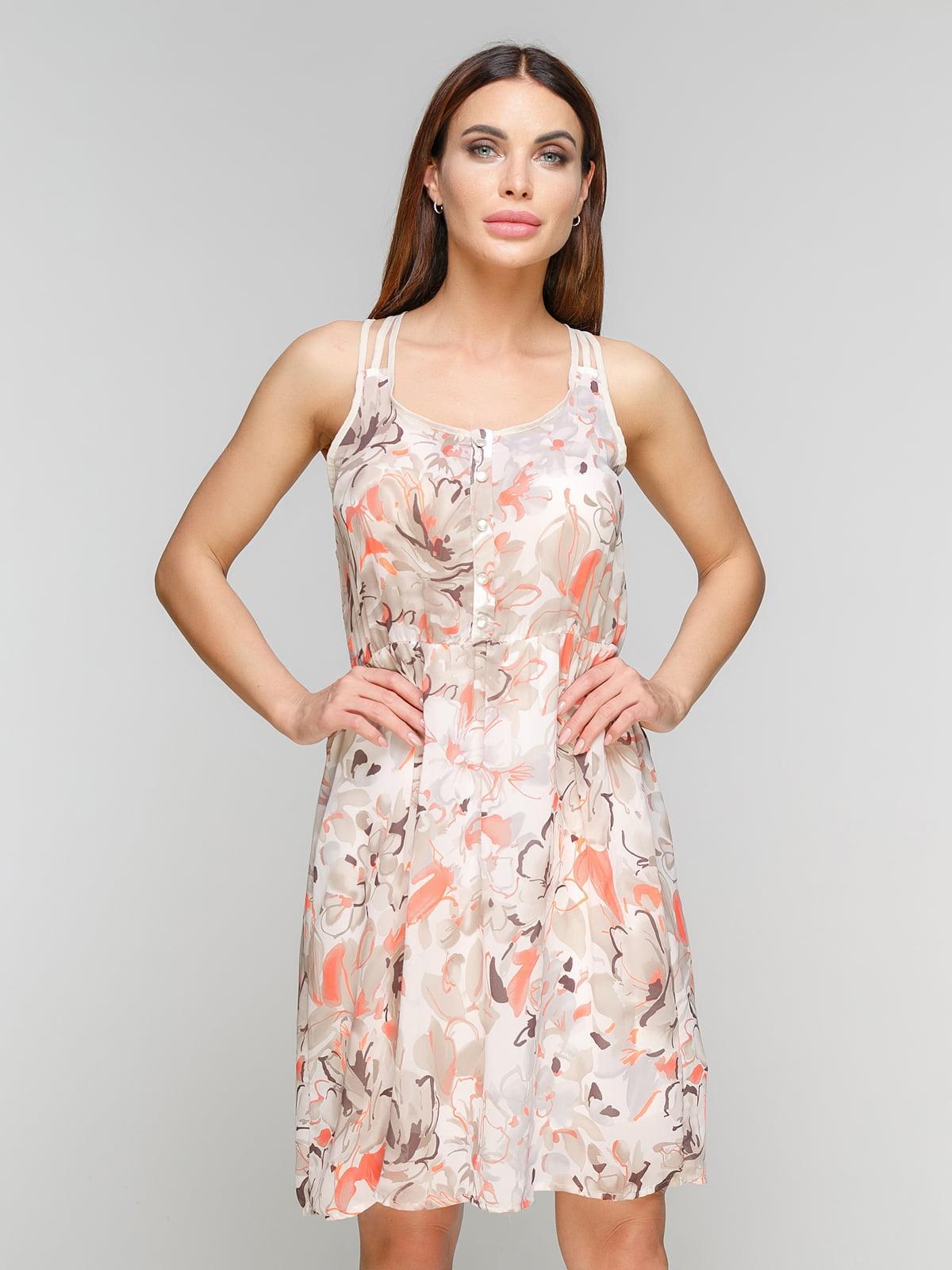 Сукня в квітковий принт | 5086029