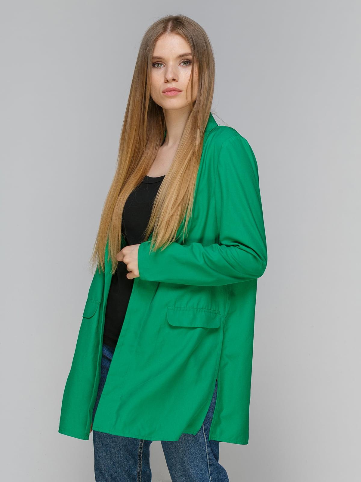 Жакет зелений | 4507257