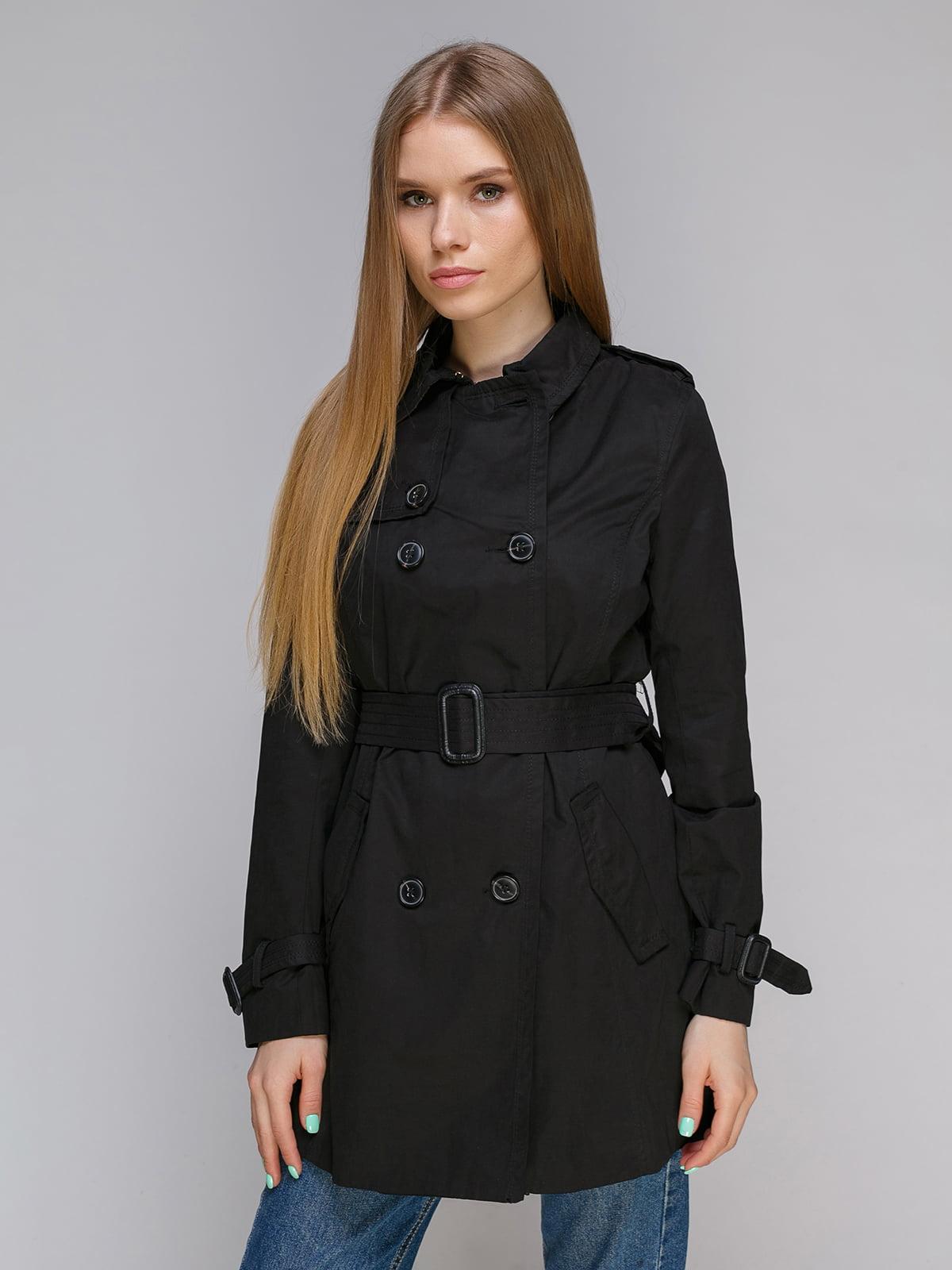 Пальто чорне | 4640143