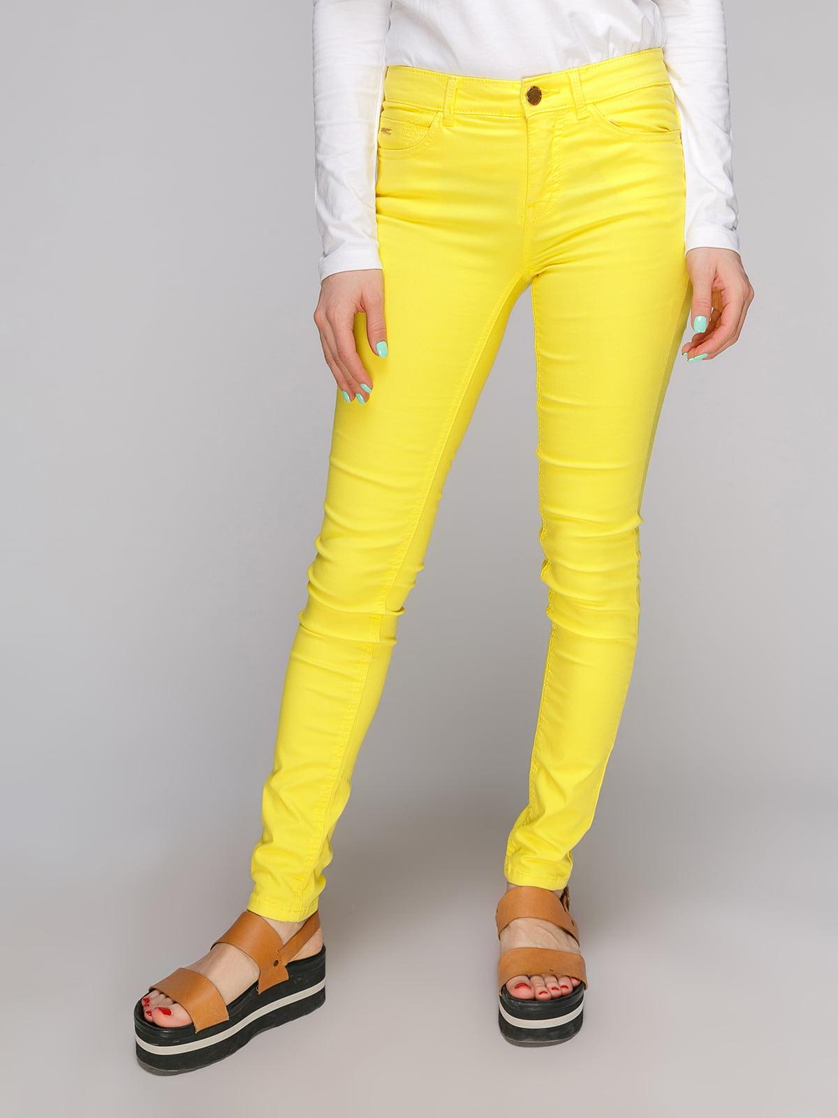 Джинсы желтые | 3801941