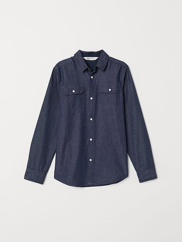 Рубашка синяя   5072578