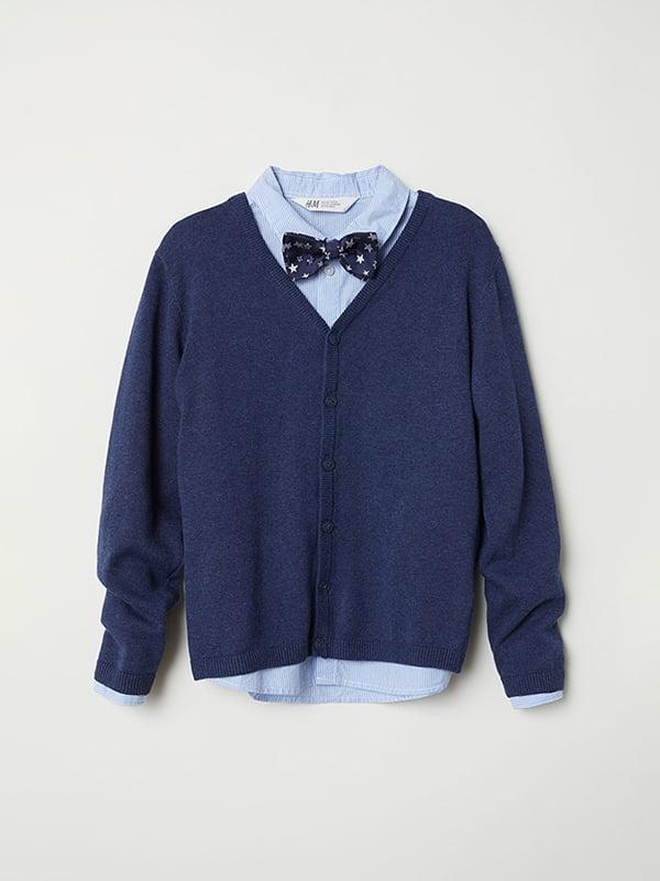 Комплект: кофта и рубашка   5072650