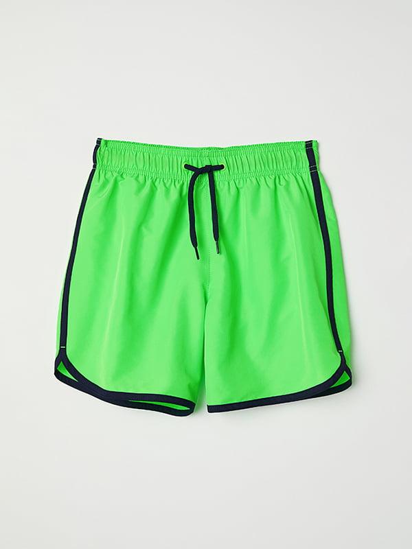 Шорты-плавки зеленые   5073233