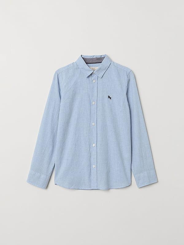 Рубашка голубая | 5073269