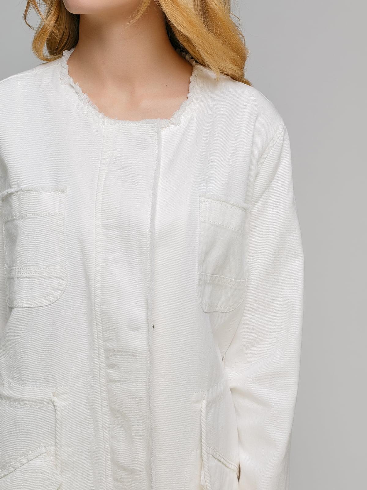 Куртка молочного кольору | 4646291 | фото 3