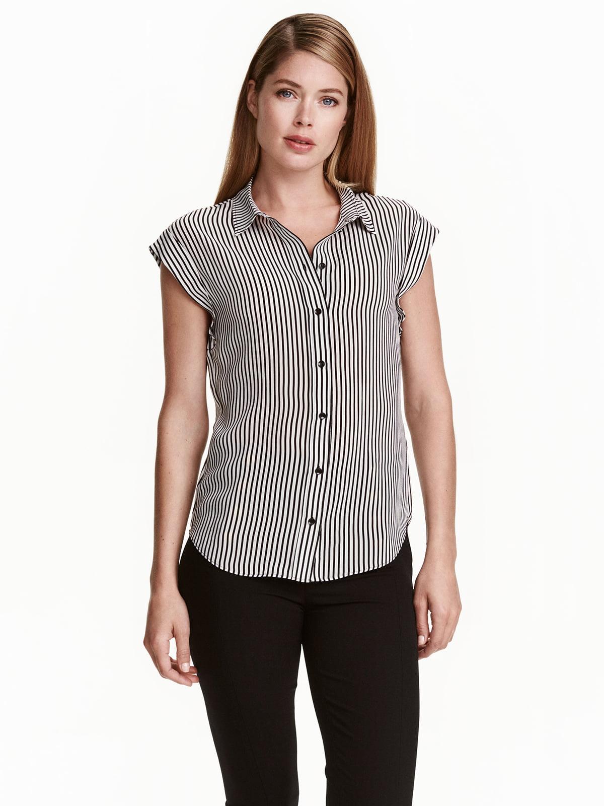 Блуза в полоску | 5072836