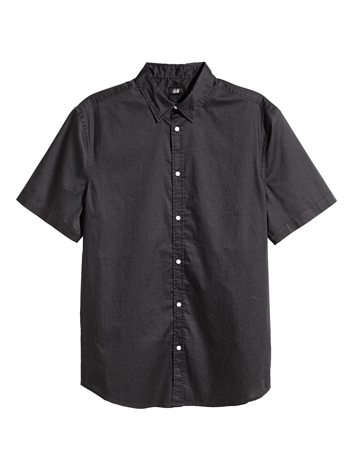 Рубашка темно-серая | 5073045