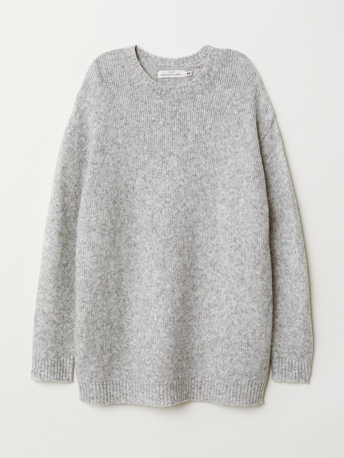 Джемпер серый | 5073359
