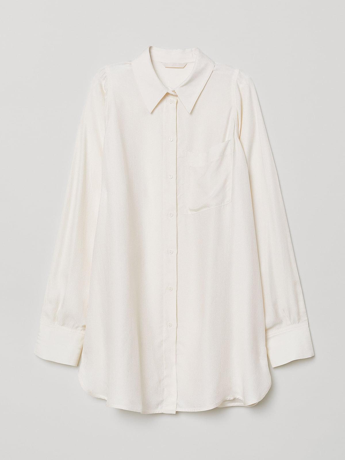 Рубашка цвета слоновой кости | 5089662