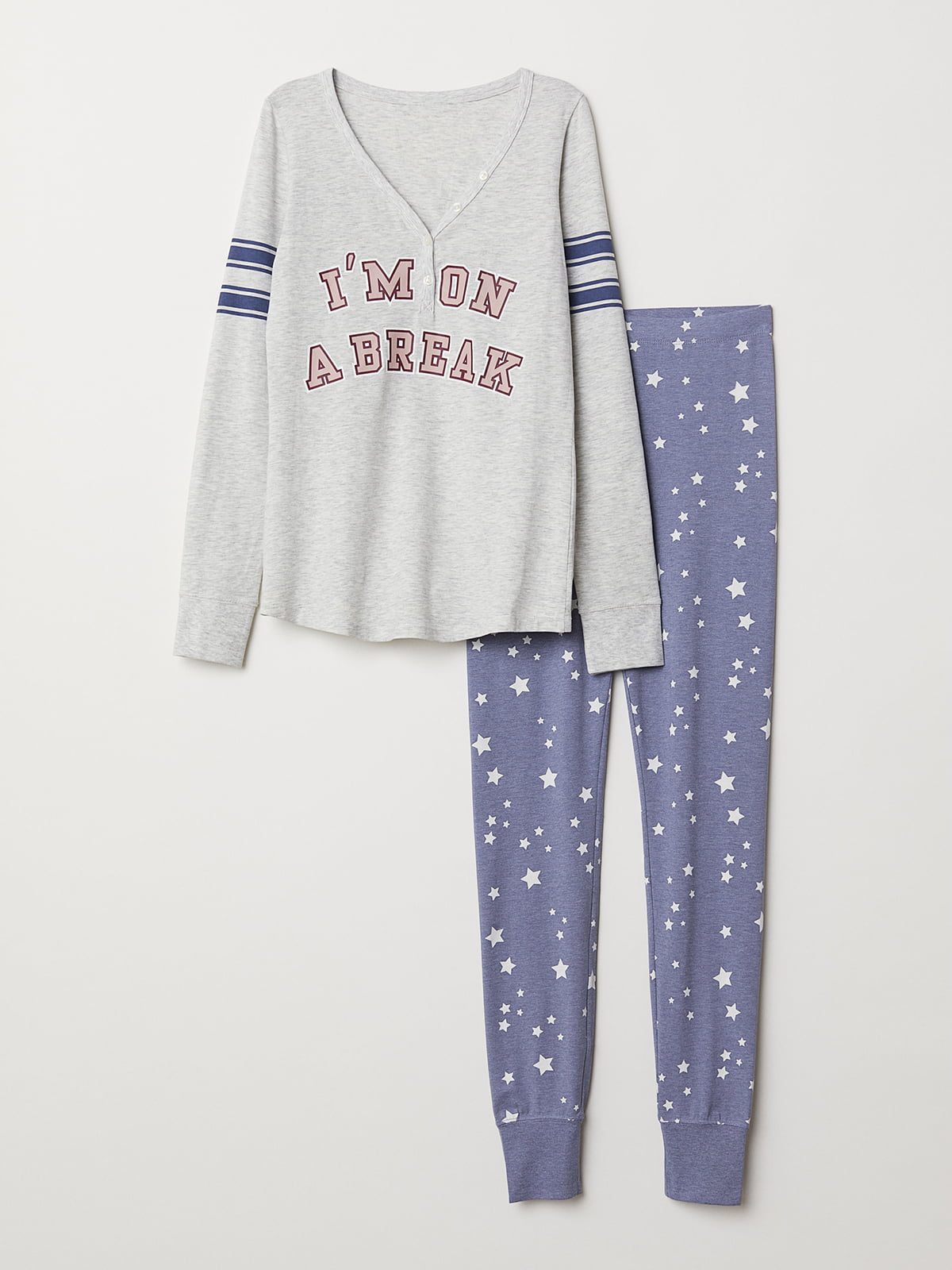 Пижама: лонгслив и леггинсы | 5093743