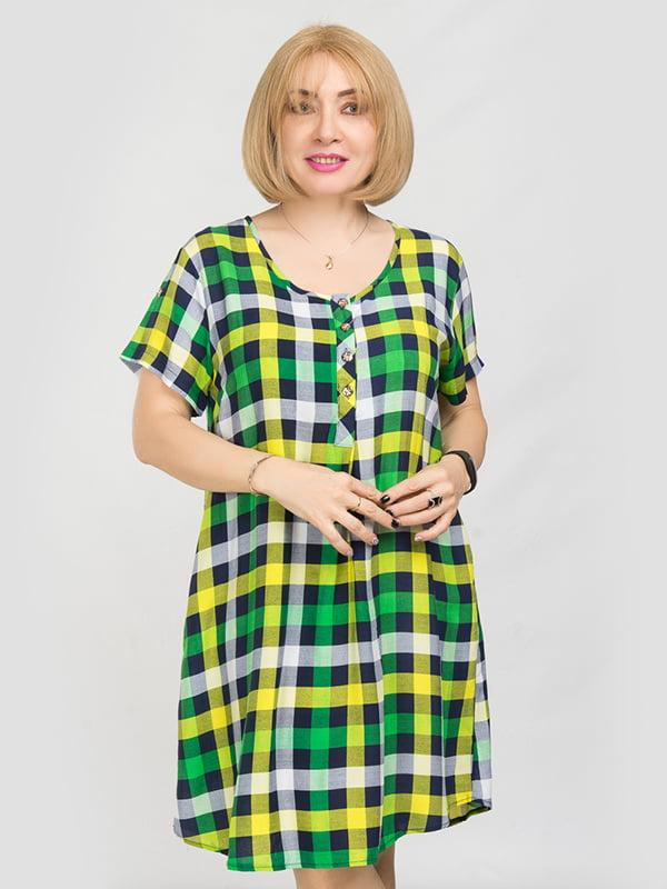 Платье в клетку | 5095512 | фото 2