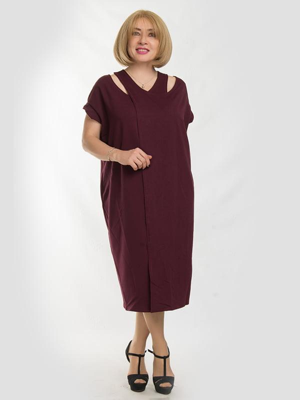 Сукня бордова | 5095514