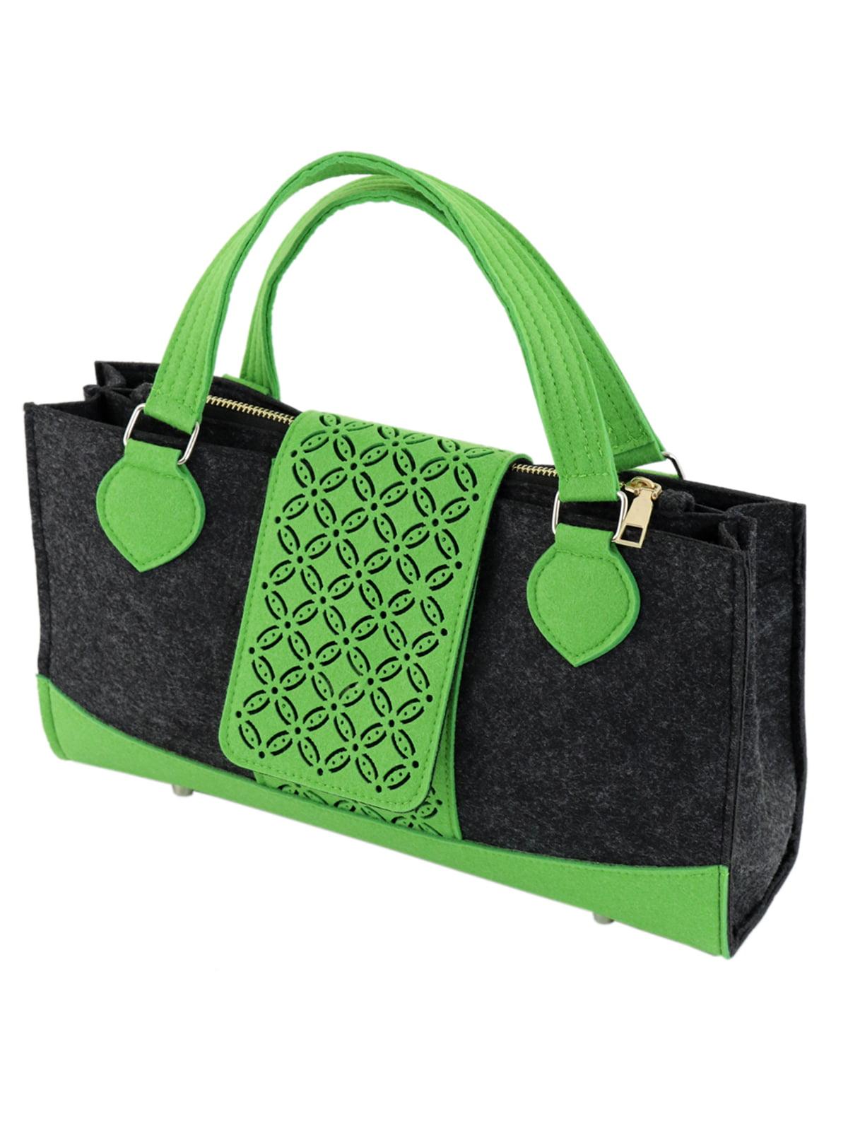 Сумка сіро-зелена | 5095933