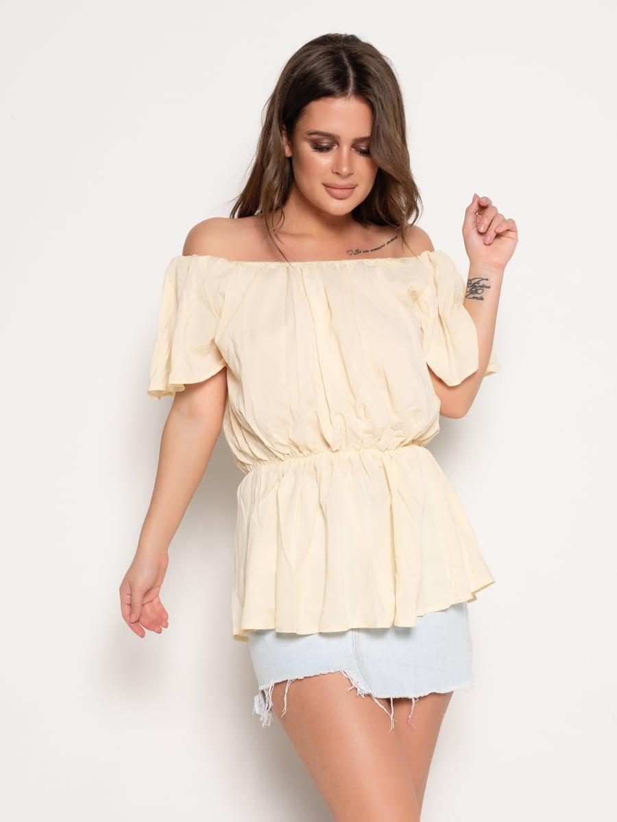 Блуза желтая | 5074846