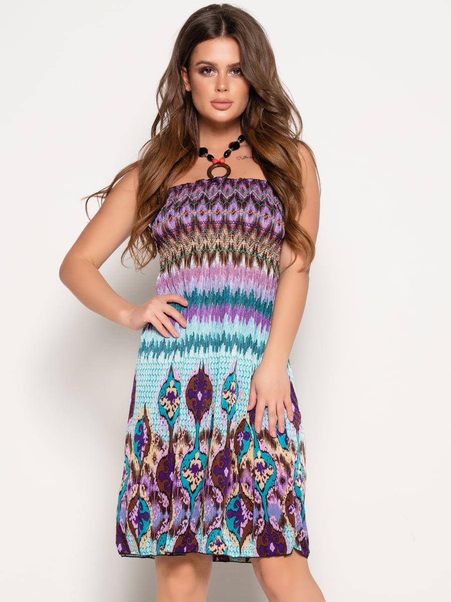 Платье в принт | 5087639