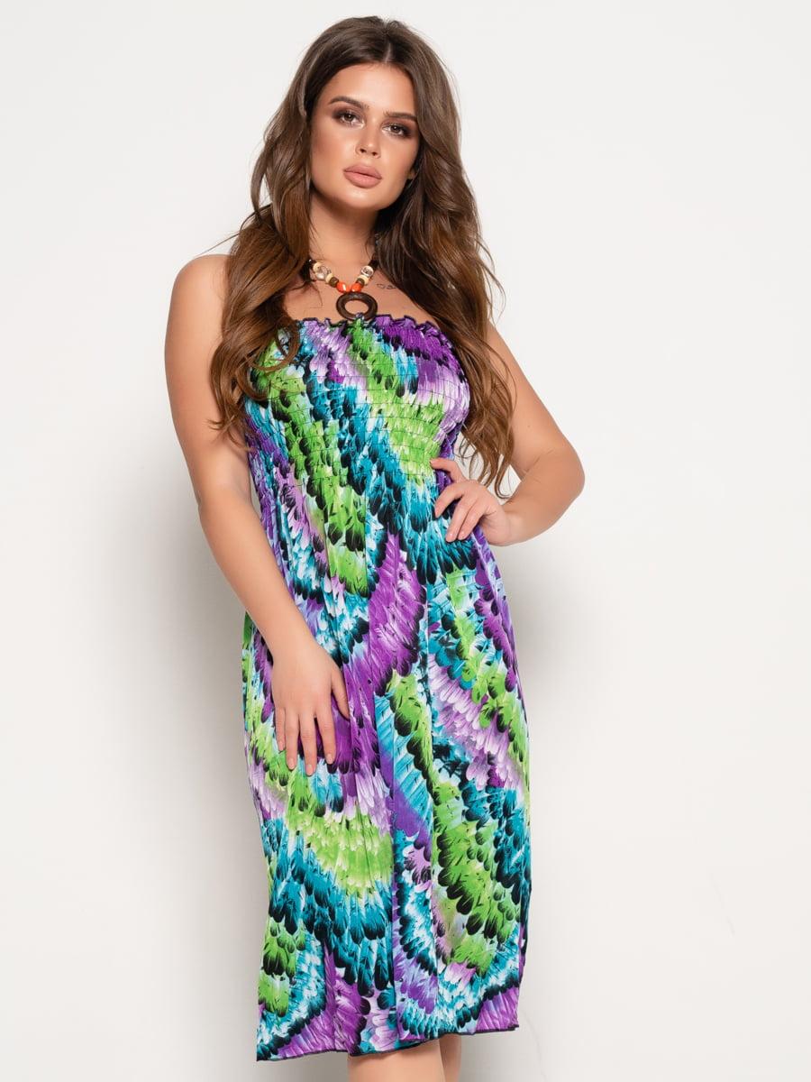 Платье в принт | 5087641