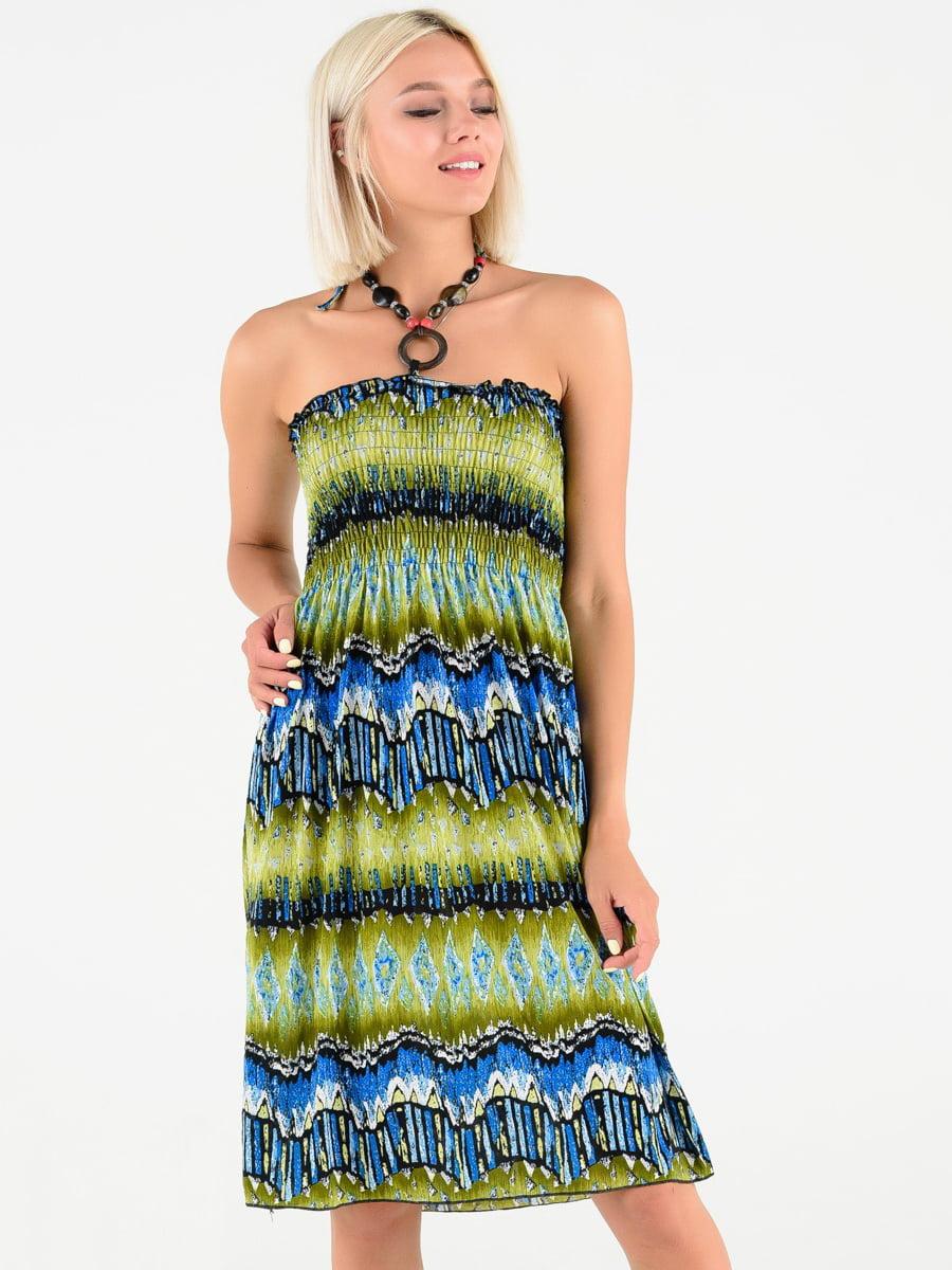 Платье в принт | 5087644