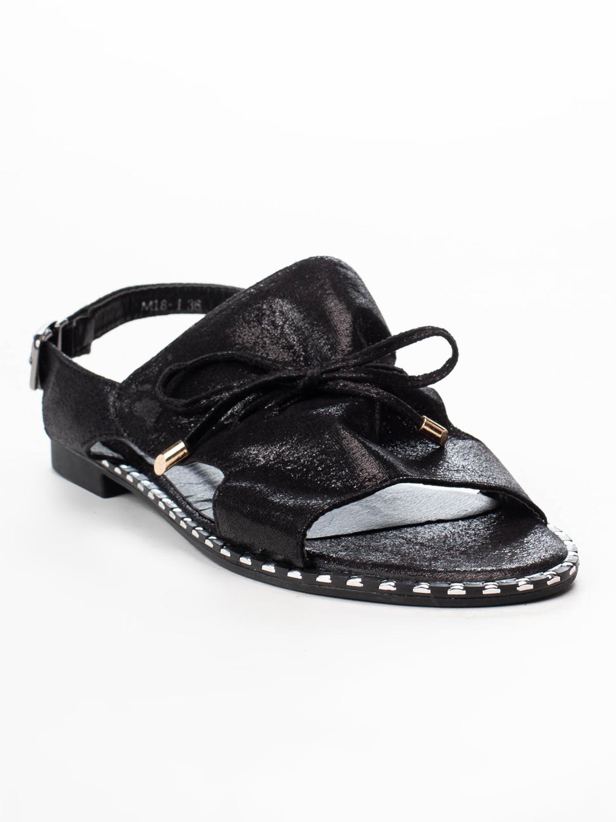 Сандалии черные | 5091851
