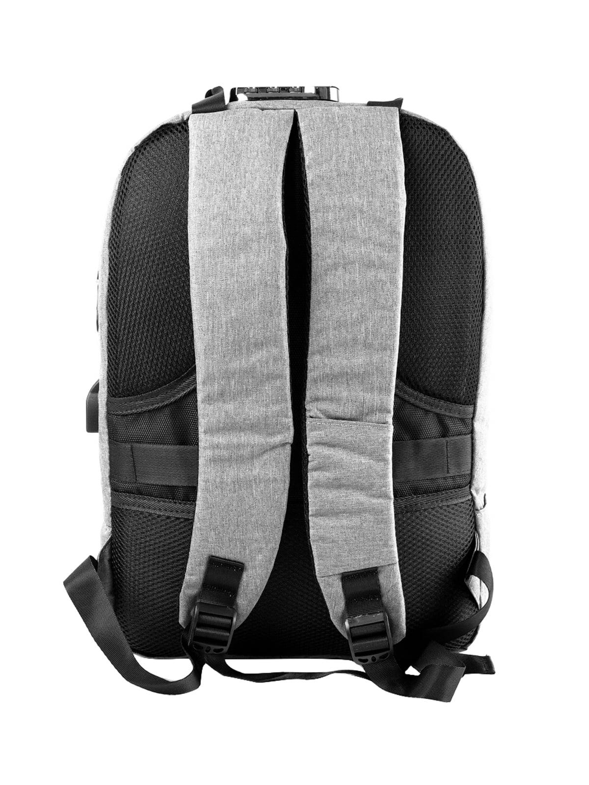Рюкзак серо-черный   5087430   фото 2