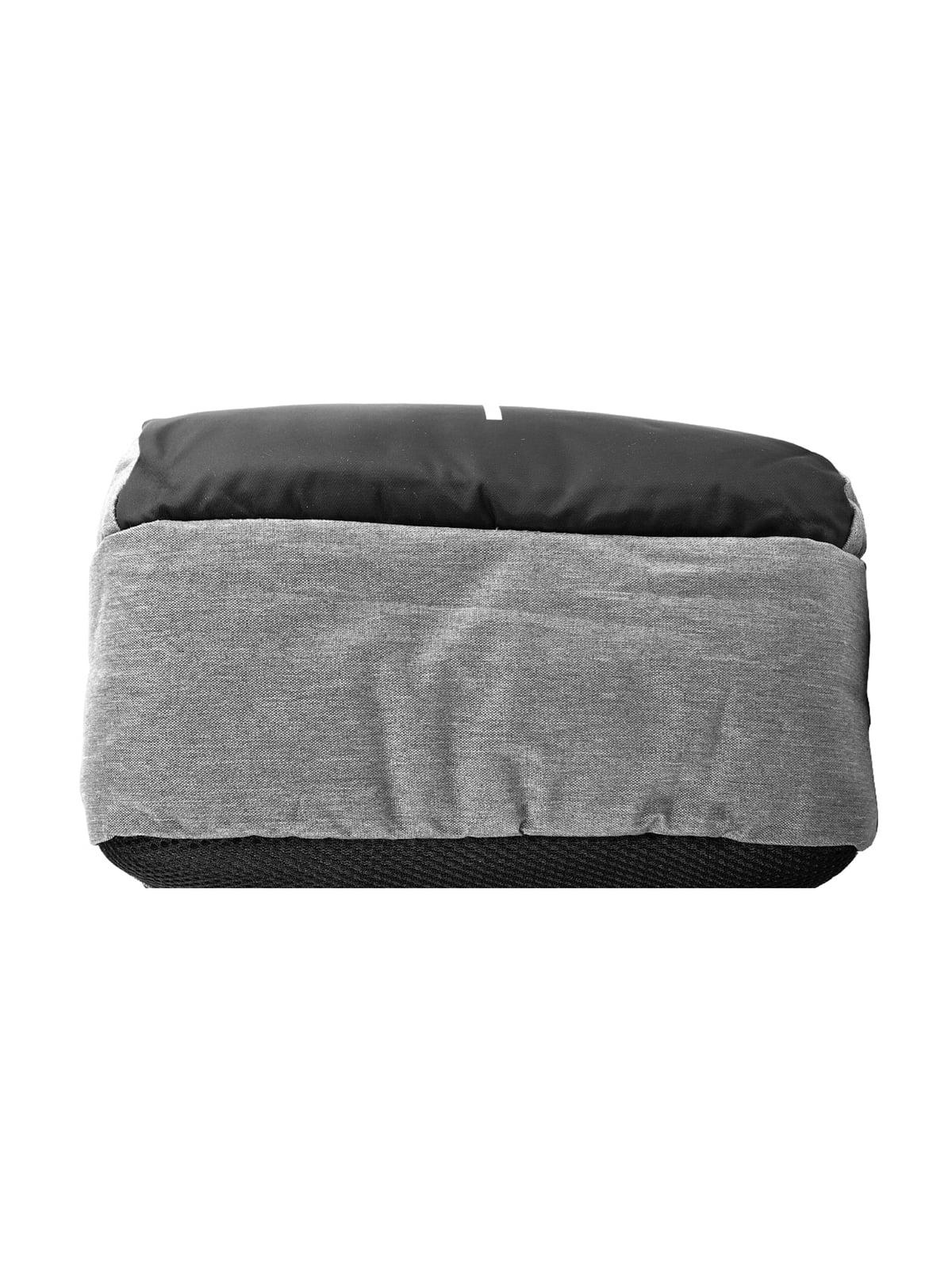 Рюкзак серо-черный   5087430   фото 4
