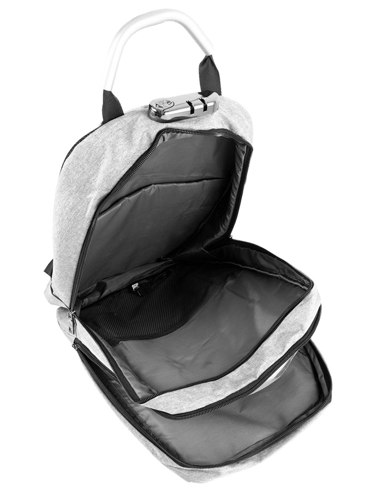 Рюкзак серо-черный   5087430   фото 5