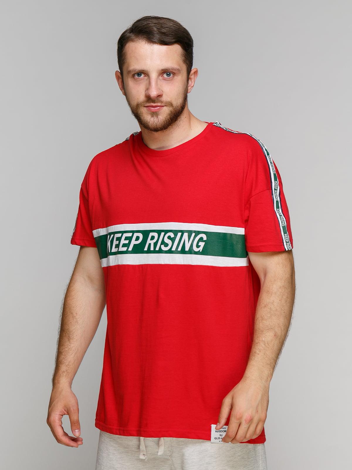 Футболка червона | 5075373