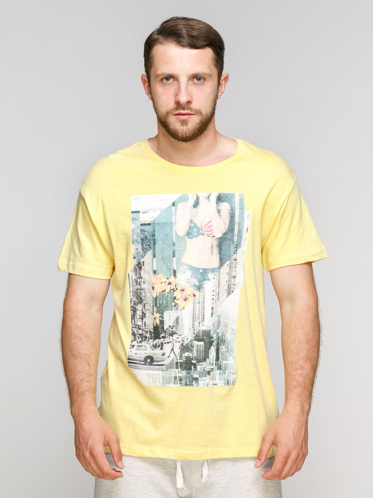 Футболка жовта | 5061943