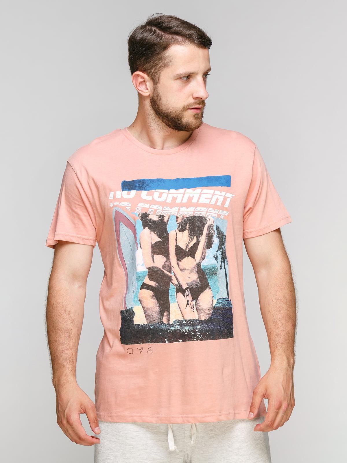 Футболка рожева | 5076408
