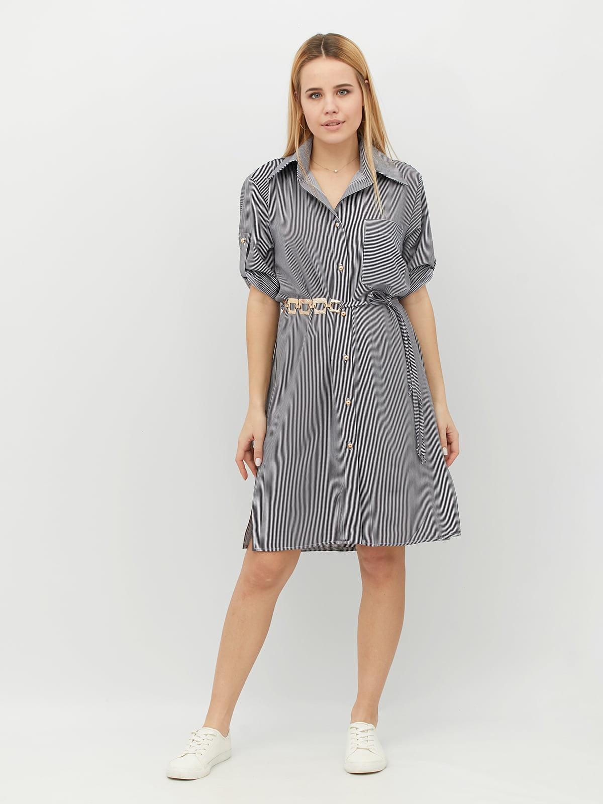 Платье серое | 5099550