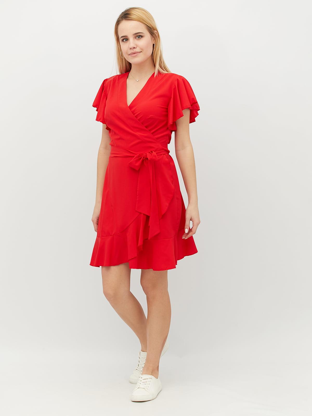 Платье красное | 5099554