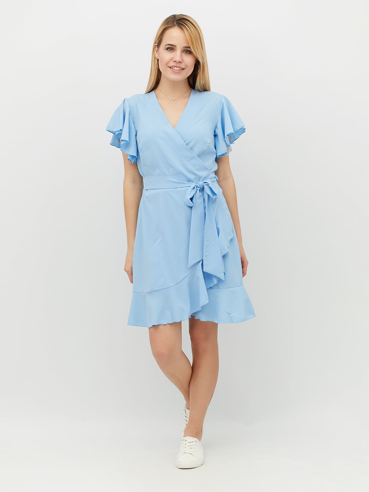 Платье голубое   5099555