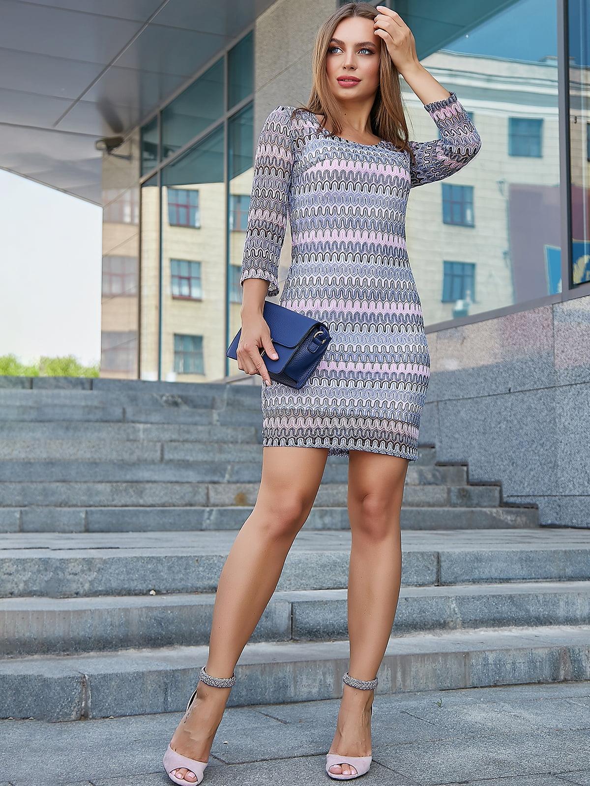 Платье в принт   5100638