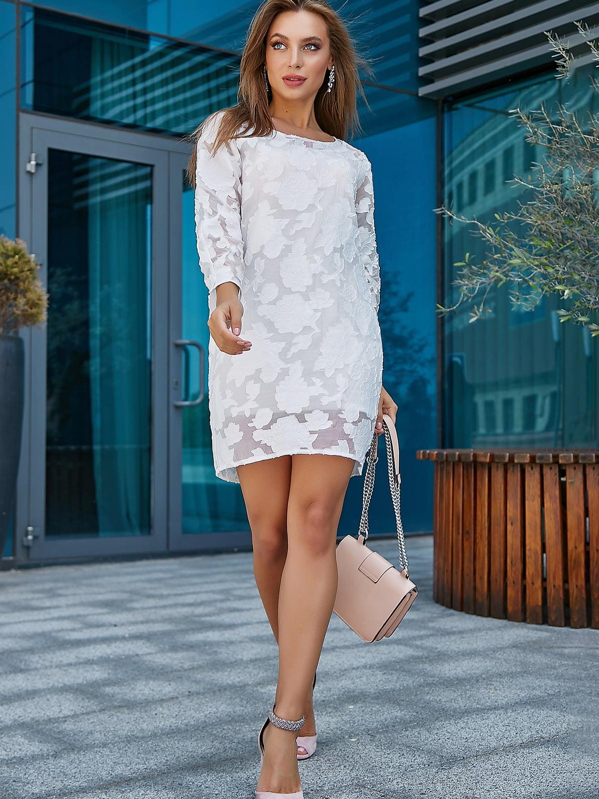 Платье белое   5100645