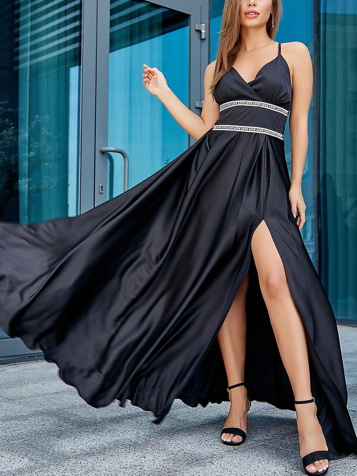 Платье черное   5100669