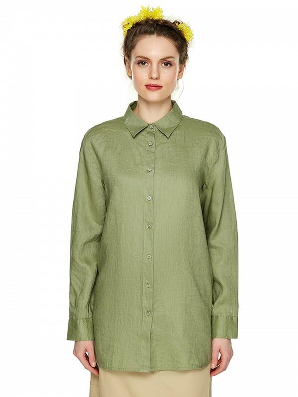 Рубашка зеленая | 4985706