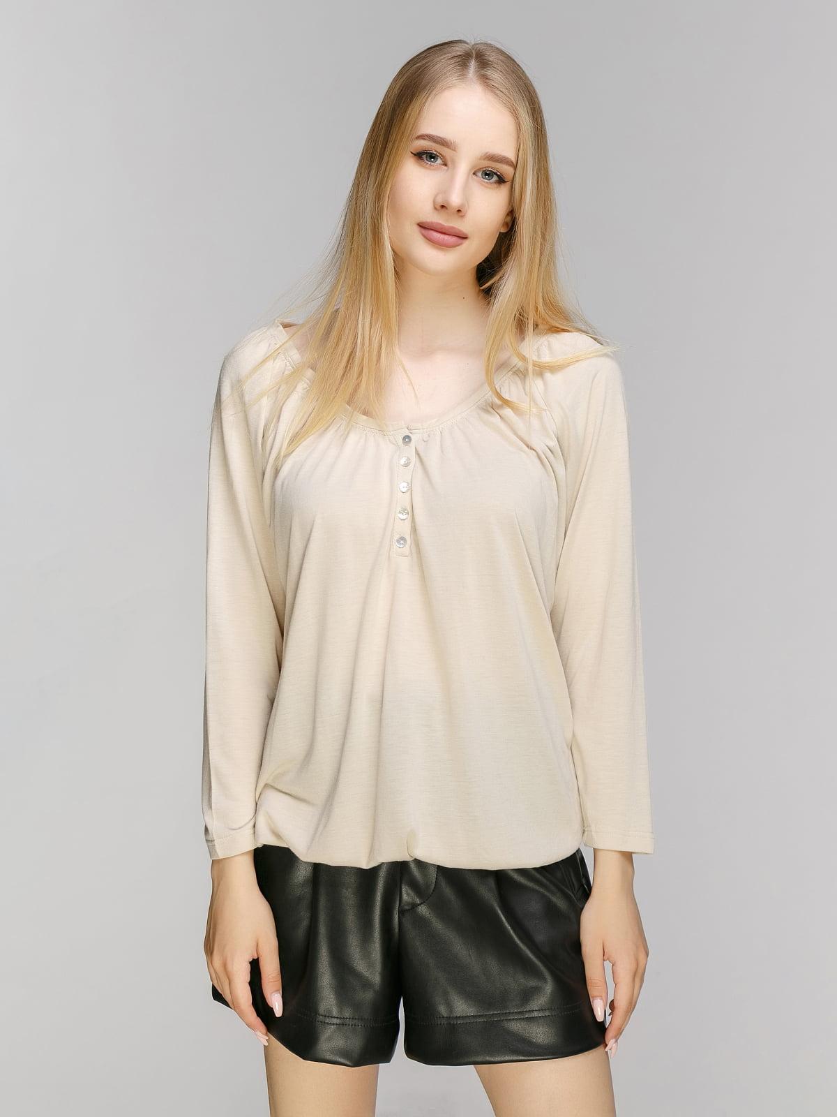 Блуза бежева | 2733113