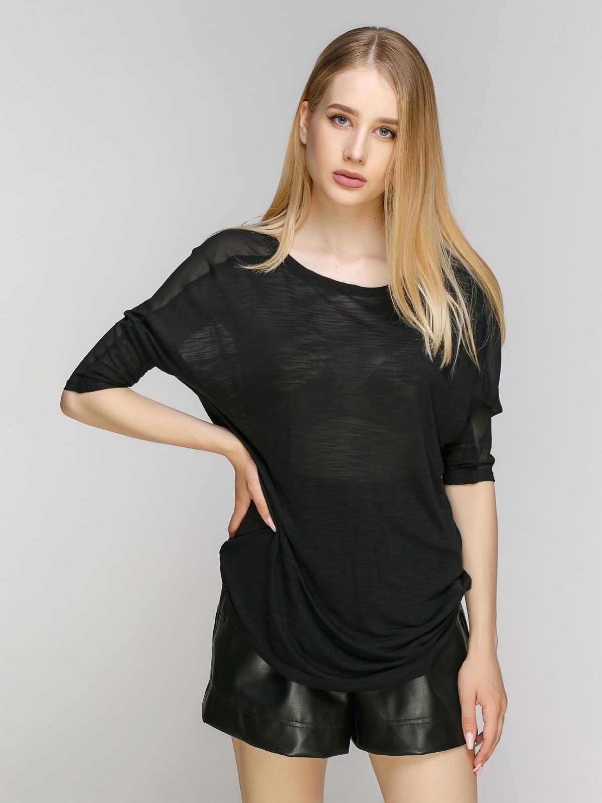 Блуза черная | 2718525