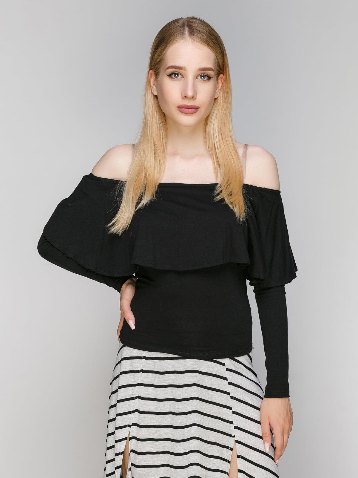 Блуза чорна | 3228920