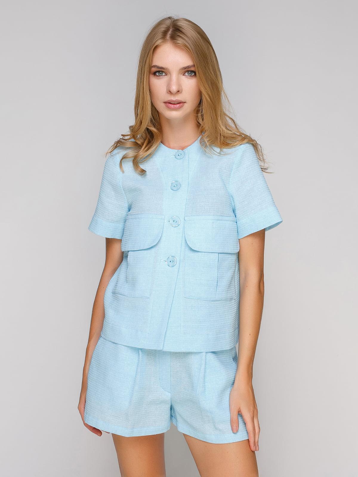 Блуза блакитна   5102092