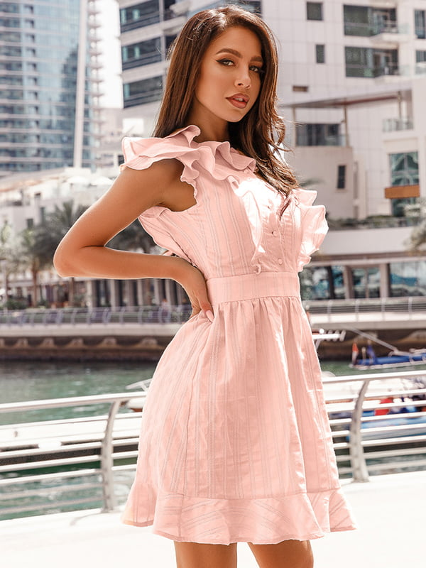 Платье розовое | 5103476