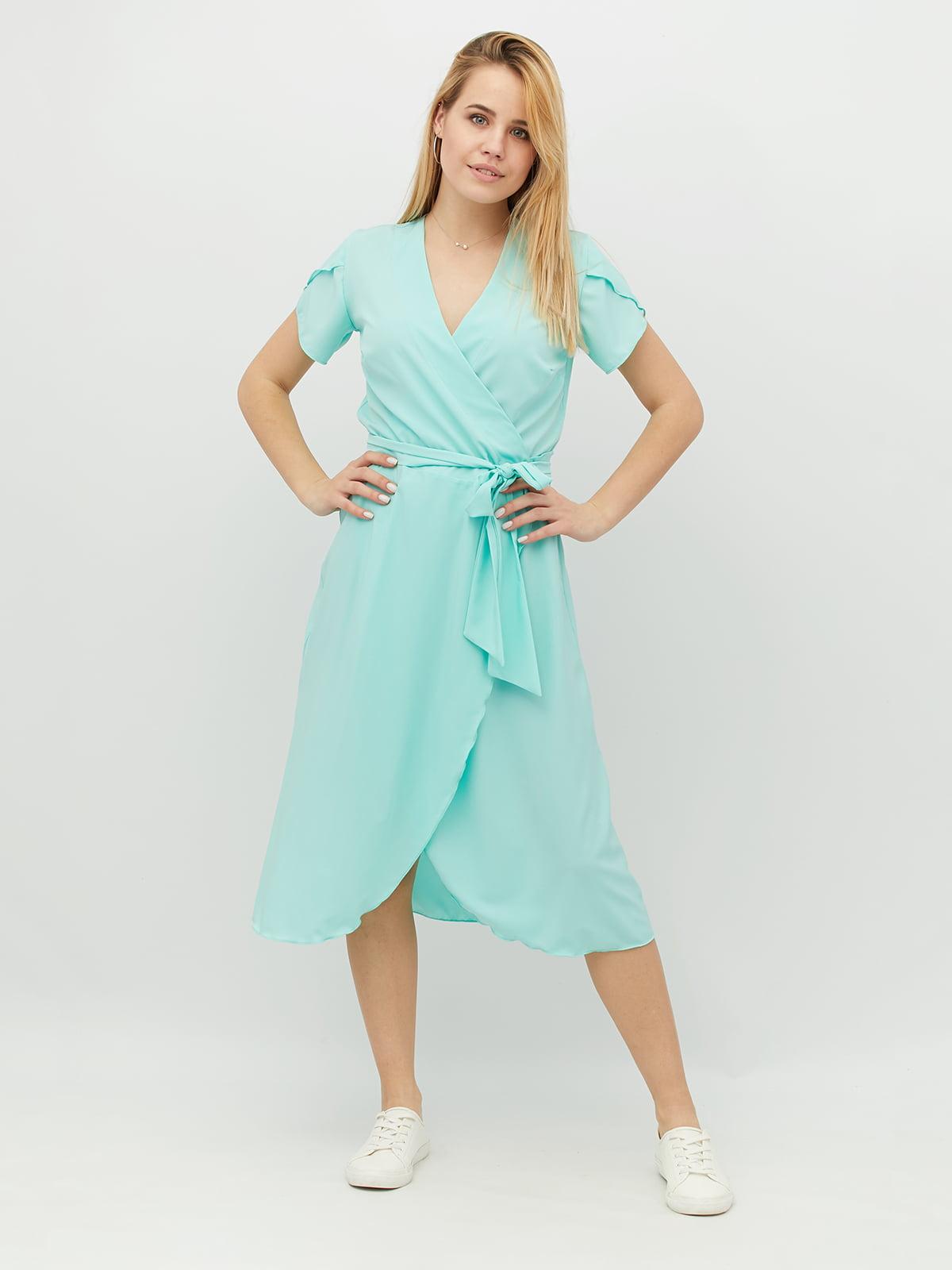 Платье мятного цвета | 5103706