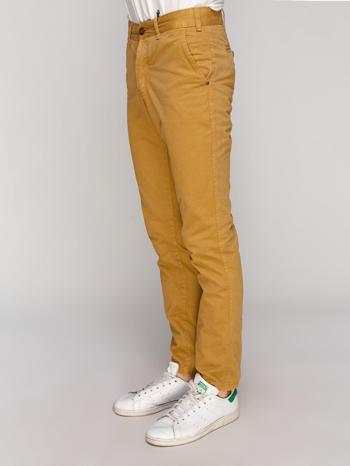 Штани гірчичного кольору   5063044