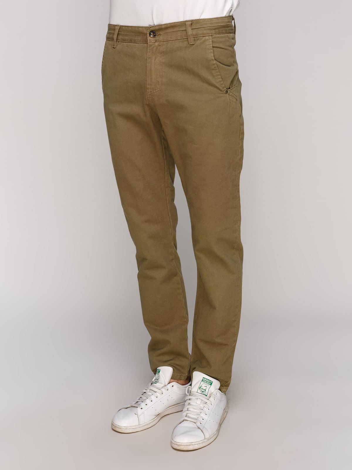 Штани коричневі | 5062925