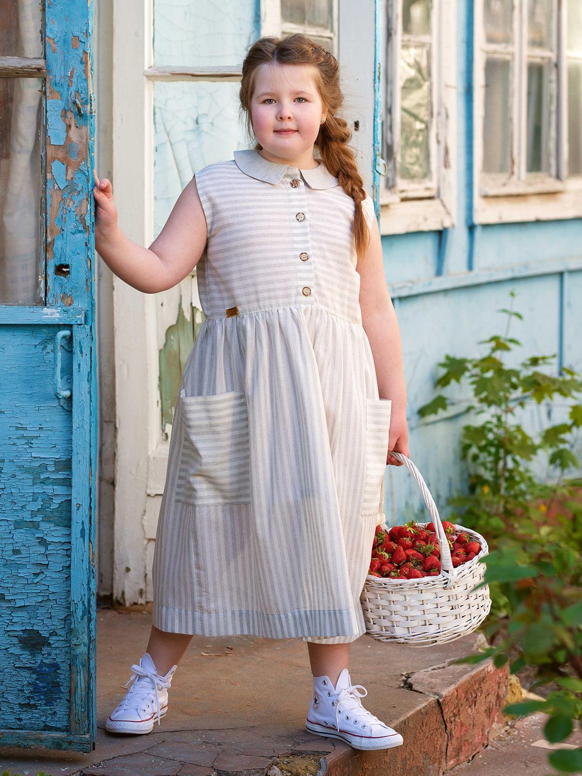 Платье в полоску | 5086776 | фото 3