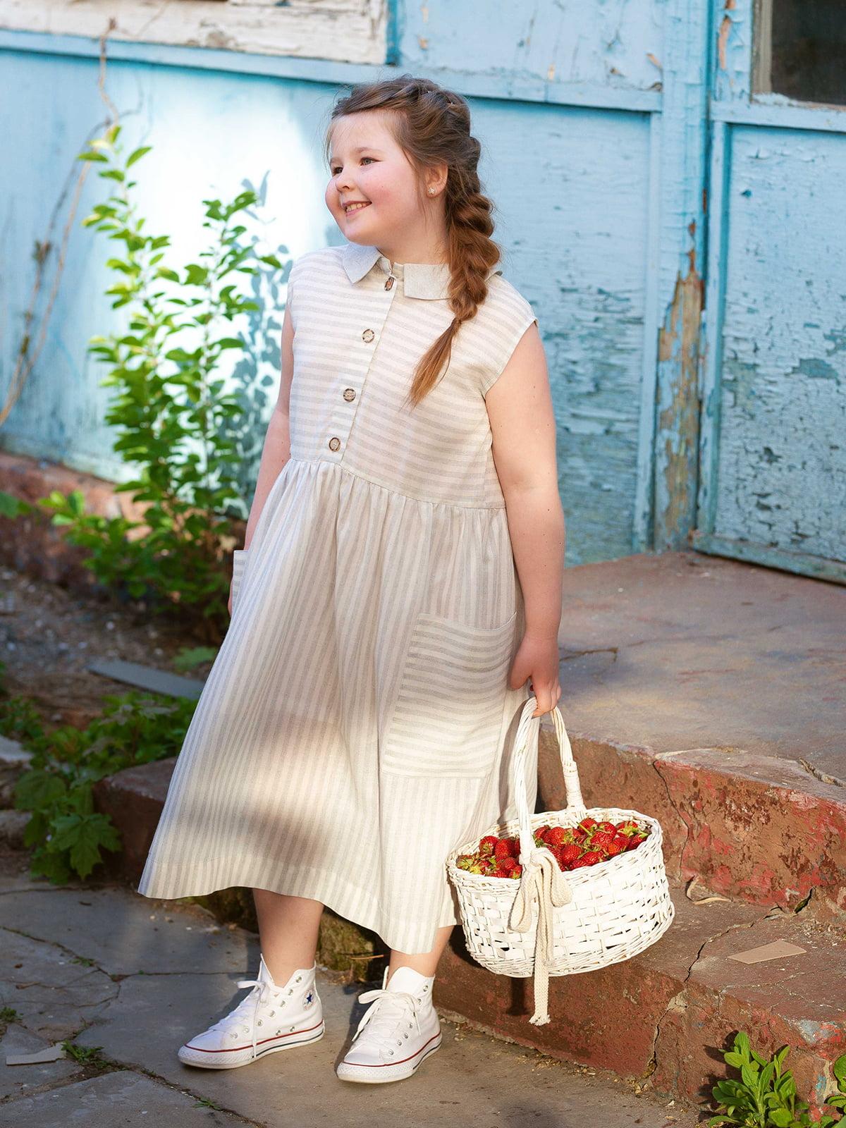 Платье в полоску | 5086776 | фото 2