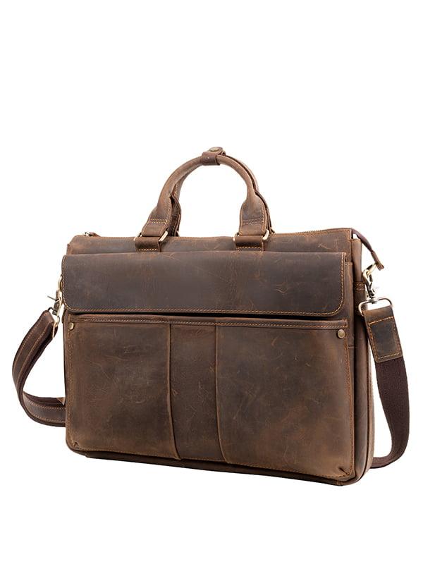 Портфель коричневий   5105059