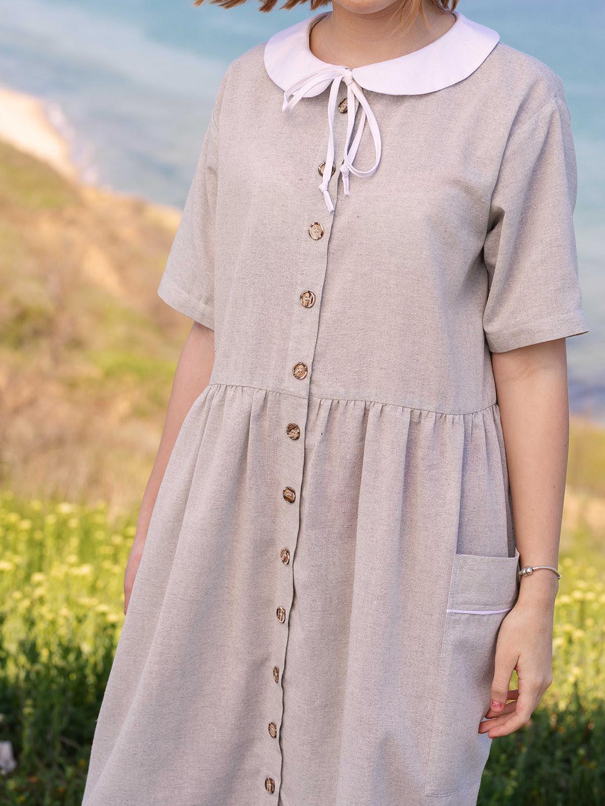 Сукня світло-сіра   5086769   фото 9