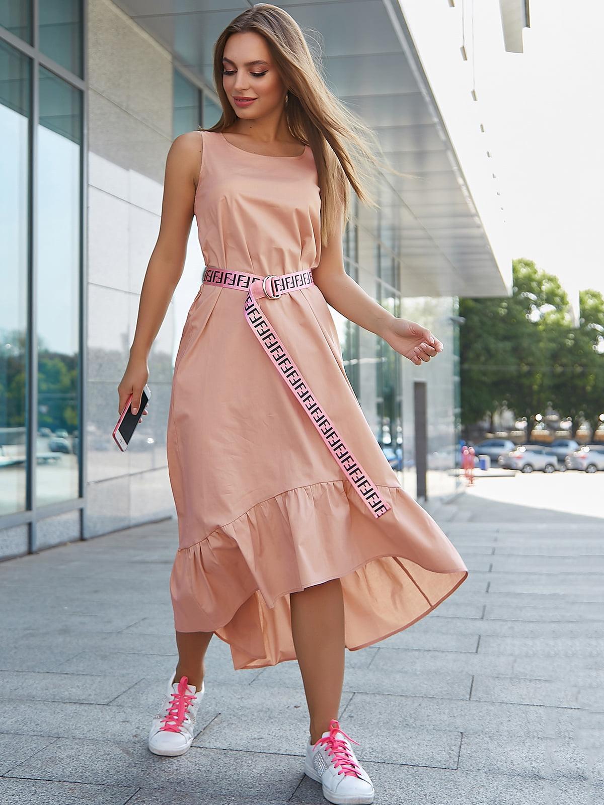 Платье кофейного цвета   5106853