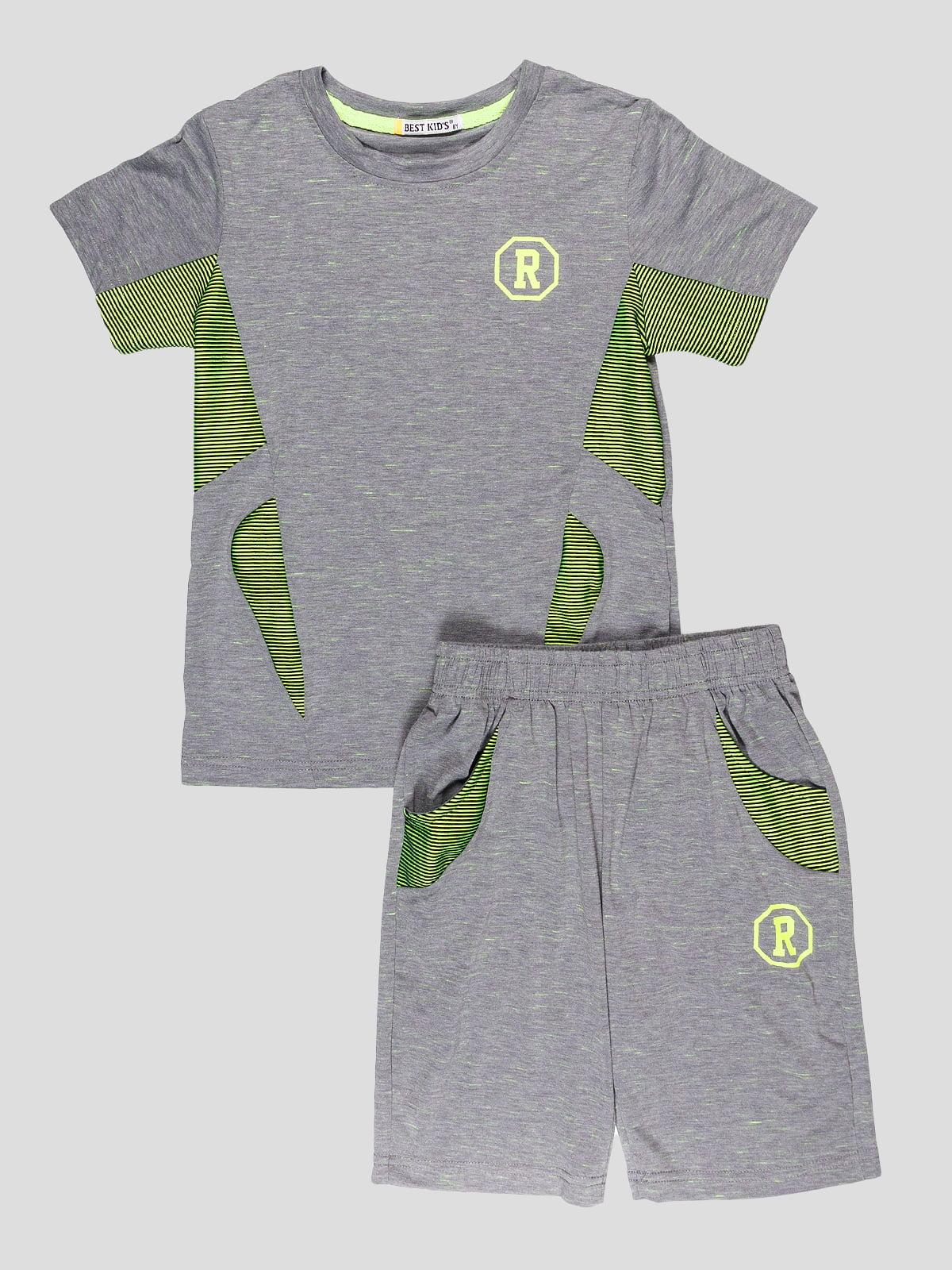 Комплект: футболка и шорты | 5096577